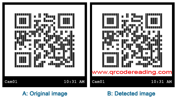 QR code detecting in C#