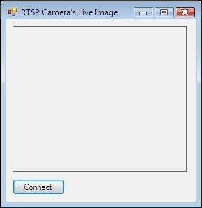 The Graphical User Interface of the RTSP camera viewer